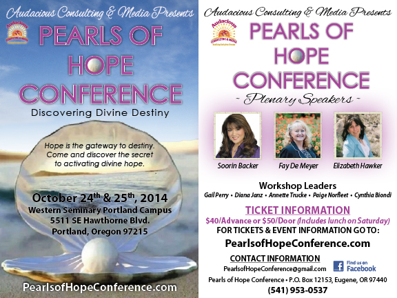 pearls of hope side by side